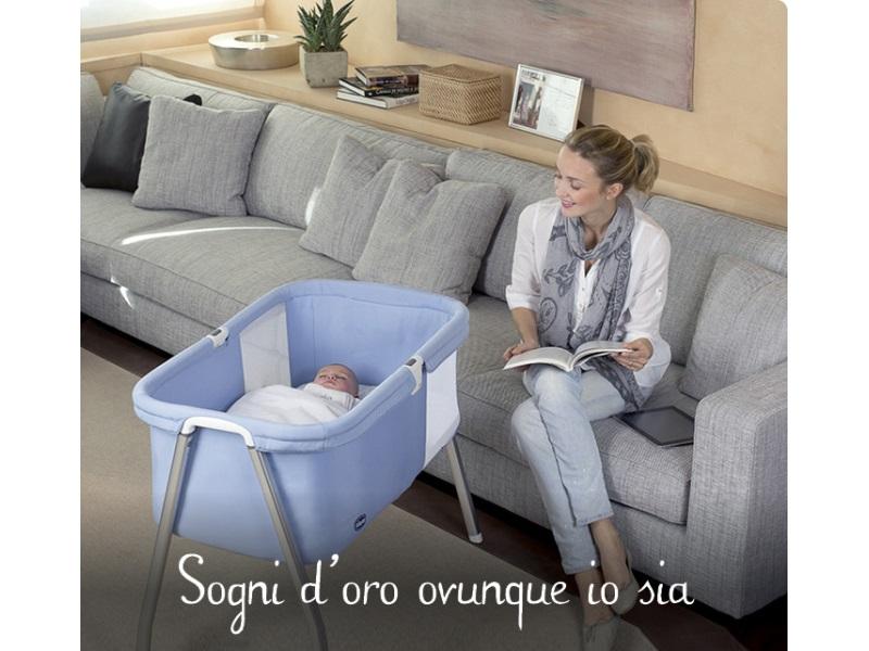 Culle neonati chicco interesting trapunta corredino per - Lettino da affiancare al letto ...
