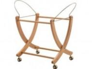 Carrello Picci in legno per cesta
