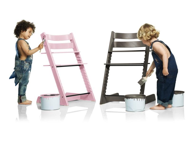 Tripp trapp stokke seggiolone con baby set for Offerte stokke tripp trapp seggiolone