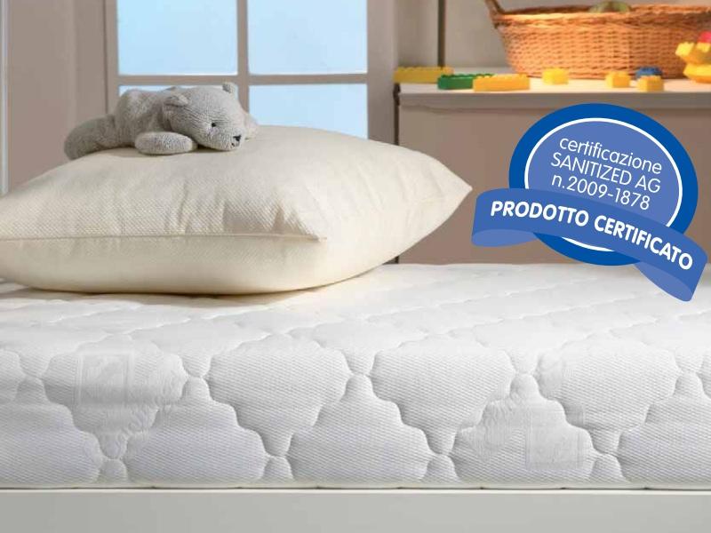 Materasso questibimbi lettino antiacaro comfort for Materasso antiacaro